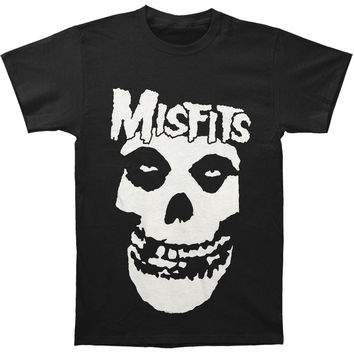 Misfits Men's  Classic Fiend Skull Regular Mens T T-shirt Black
