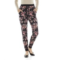 Pink Republic Hatchi Knit Jogger Pants - Juniors