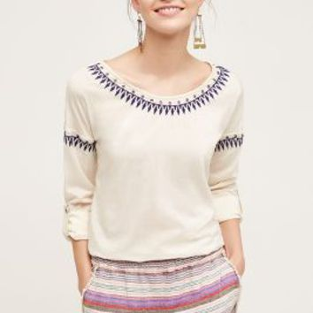 Plenty by Tracy Reese Lucia Top in Ivory Size: