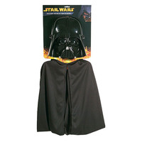 Darth Vader Costume Cape & Mask