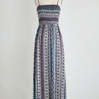 Boho Long Sleeveless Maxi Top To-Dos Dress