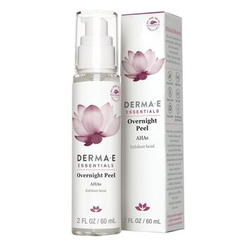 Derma E Evenly Radiant Overnight Peel - 2 fl oz