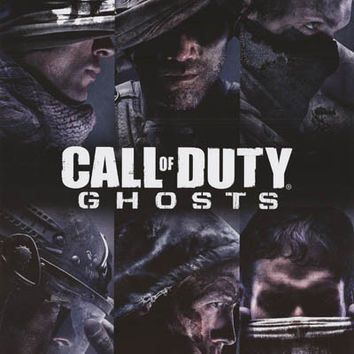 Call of Duty Ghosts Video Game Poster 22x34