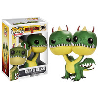 Funko POP! How to Train Your Dragon 2 Movie - Vinyl Figure - BELCH & BARF (Pre-Order ships May): BBToyStore.com - Toys, Plush, Trading Cards, Action Figures & Games online retail store shop sale