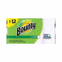 Paper Towels Roll Giant Bounty Select-A-Size White 8 Pack Absorbent