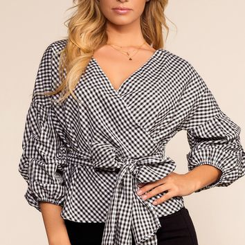 Checkmate Gingham Top