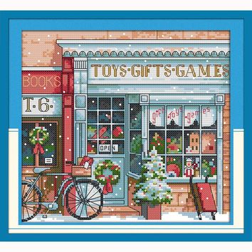 cross stitch kits  toy shop