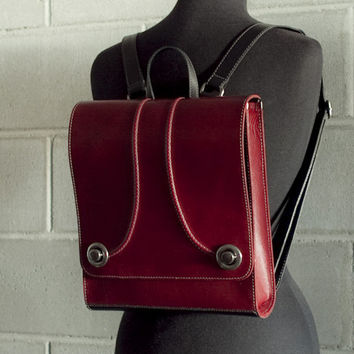 RAYA Backpack – Oxblood Red