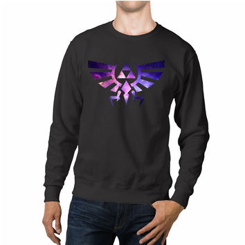 Triforce Zelda Galaxy Unisex Sweaters - 54R Sweater