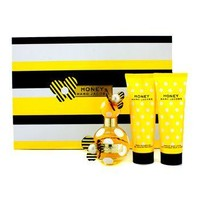 Marc Jacobs Honey Coffret: Eau De Parfum Spray 50ml/1.7oz + Body Lotion 75ml/2.5oz + Shower Gel 75ml/2.5oz Ladies Fragrance