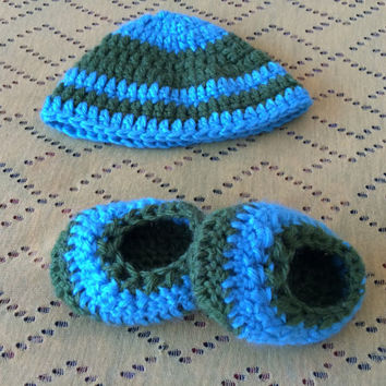 Hat and Shoes set for newborn baby baby booties winter baby cloths baby gift