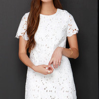 Legacy in Lace Ivory Lace Dress