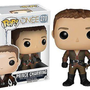 Funko Pop TV: Once Upon a Time - Prince Charming Vinyl Figure