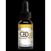 Plus CBD Oil Drops Gold Formula