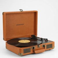 Crosley Cruiser Tan UK Plug Record Player - Urban Outfitters