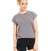 Planet Gold Juniors' Burnout Muscle Tee