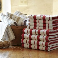 Williams-Sonoma Striped Dishcloths