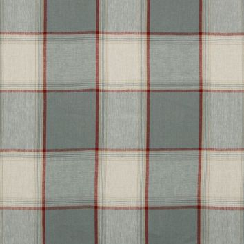 Robert Allen Fabric 215678 Vintage Plaid Chambray