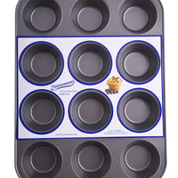 Entenmann's Bakeware Classic ENT19012 12-Cup Muffin/Cupcake Pan