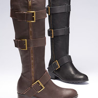 Leather Riding Boot - Colin Stuart - Victoria's Secret