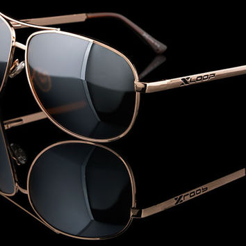 "X-Loop Polarized Driving Aviator Sunglasses ""Portland"""
