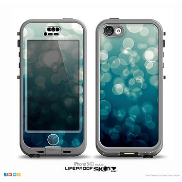 The Green Unfocused Orbs Of Light Skin for the iPhone 5c nüüd LifeProof Case