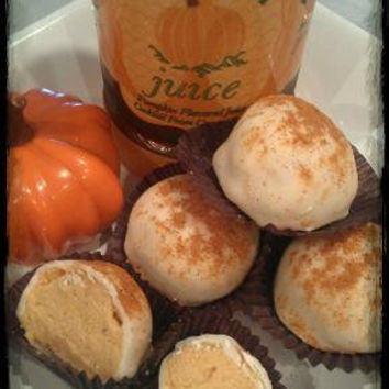 Pumpkin Juice Cake Truffles - Magical Whimsical Sweets & Treats - Honeydukes - Hogwarts - Party Favors - Wedding Favors