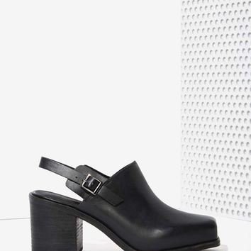 Intentionally Blank Honcho Leather Mule