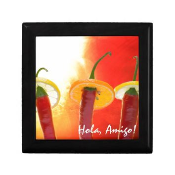 The Red, The Hot, The Chili Keepsake Box