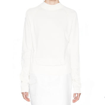 Acne Studios Blossom Off White Nylon Sweater
