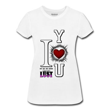 I Love You - Mind Lus T-Shirt | Awesome Quotes