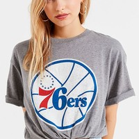 Mitchell & Ness Philadelphia 76ers Tee   Urban Outfitters