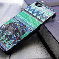 iPhone 5 case Elephant Green Aztec , iPhone case, iPhone hard case, case iPhone, case for iPhone, iPhone case custom Green