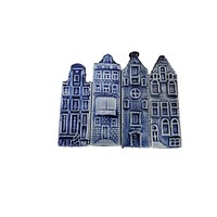 Delft Canal Houses Kitchen Magnet