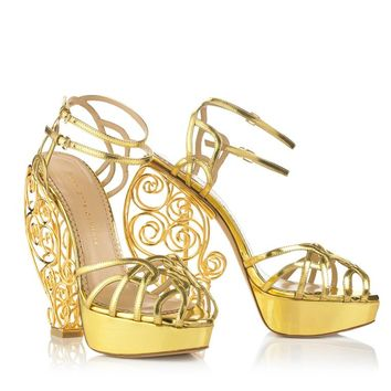 Charlotte Olympia Women's Luxury Platform Shoes | Charlotte Olympia - ATLANTIS