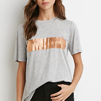 Metallic Obsessed Graphic Tee