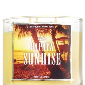 3-Wick Candle Papaya Sunrise