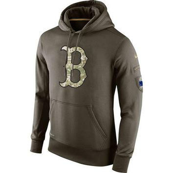 Boston Red Sox Nike MLB Salute To Service Hoodie
