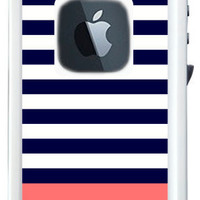 Monogrammed Lifeproof Case iPhone 4/4s or 5 Color Block Print by conniption Prints