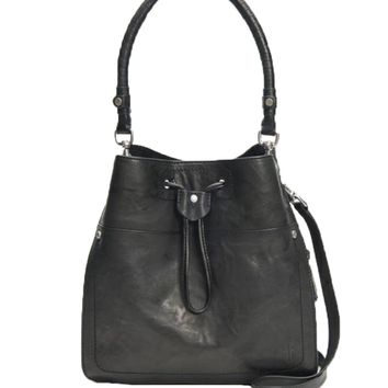 Frye Demi Hobo Bag Black