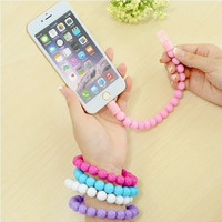 USB Wristband Data Sync Charger Cable Bracelet Cord for Apple iPhone 5/5S Fashion Gadgets = 1705651652