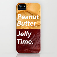 Peanut Butter Jelly Time iPhone & iPod Case by Electric Avenue