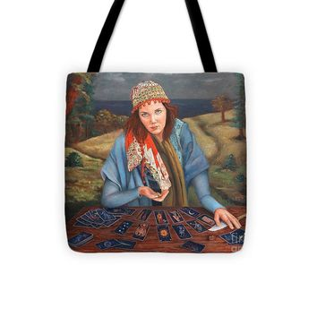 The Gypsy Fortune Teller - Tote Bag 138