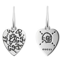 Gucci Silver GucciGhost Drop Earrings | Nordstrom