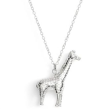 Anna Beck Large Giraffe Pendant Necklace | Nordstrom