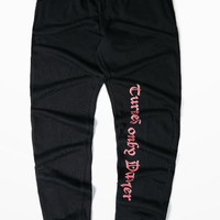 Calabasas High Street Fashion Men And Women Small Feet Pants Warm Winter Streetwear Justin Bieber Skateboard Loose Pants 4XL