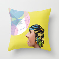 Pop Songs Throw Pillow by John Murphy
