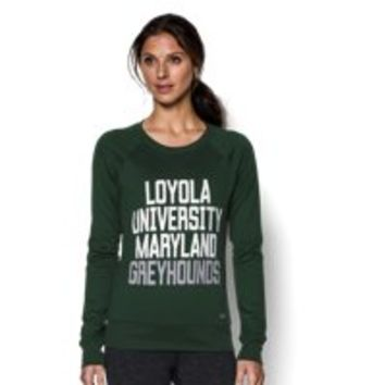 Under Armour Women's Loyola UA Long Sleeve Crew