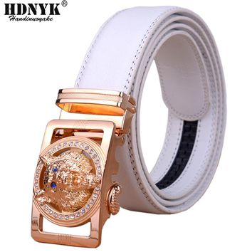 Designer Belts Men High Quality Automatic Belt Men Leather