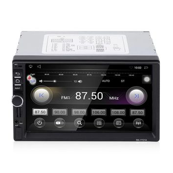 "7"" HD 1024*600 Car DVD Player touch screen MP3 Stereo Audio Video GPS camera reversing system Bluetooth WIFI Mobile Internet"